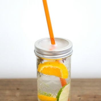 12 oz. Mason Jar Tumbler - Eco Friendly Kids Cup - To Go Cup