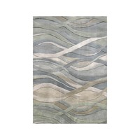 Alliyah Handmade Grey/Green New Zealand Blend Wool Rug (9' x 12') | Overstock.com Shopping - The Best Deals on 7x9 - 10x14 Rugs