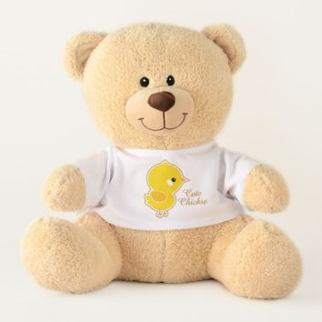Cute Chickie Teddy Bear