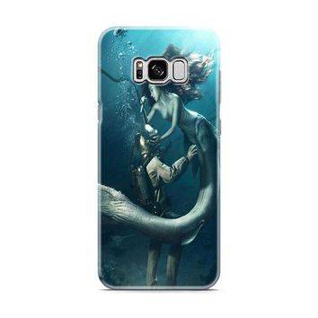 DIVER AND THE MERMAID Samsung Galaxy S8 | Galaxy S8 Plus Case