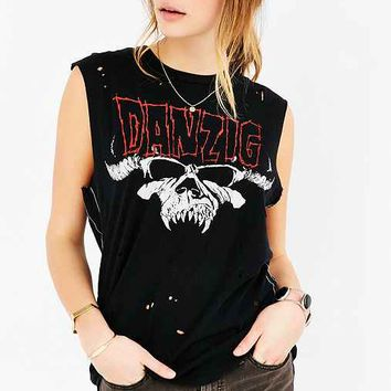 Danzig Destroyed Muscle Tee