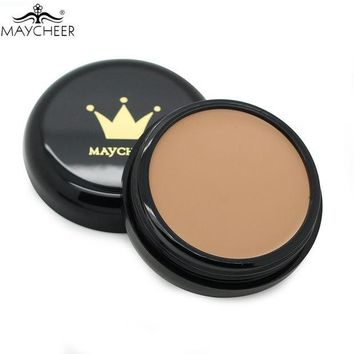 DCCKHY9 MAYCHEER Make Up Camouflage Concealer Cream 10 Colors Optional Moisturizing Oil-control Waterproof Contour Makeup Face Primer