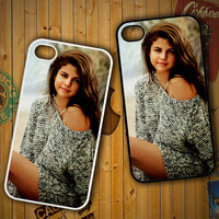 Selena Gomez beautiful Z1174 LG G2 G3, Nexus 4 5, Xperia Z2, iPhone 4S 5S 5C 6 6 Plus, iPod 4 5 Case