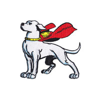 Krypto Superman Iron-On Patch