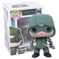 FUNKO POP! Televison The Green Arrow 348 / Black Canary 209 Vinyl Figure Collectible Model Toy Car Decoration