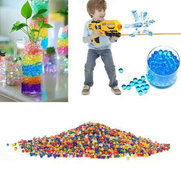 ESBONJ 10000pcs/packet colored orbeez soft crystal water paintball gun bullet grow water beads grow balls water gun toys