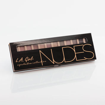 L.A. Girl Eye Shadow Palette Collection - Nudes