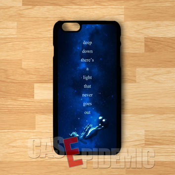 Sora Kingdom Hearts Quote - Fzi for iPhone 6S case, iPhone 5s case, iPhone 6 case, iPhone 4S, Samsung S6 Edge