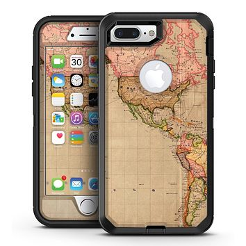 The Eastern World Overview Map - iPhone 7 Plus/8 Plus OtterBox Case & Skin Kits