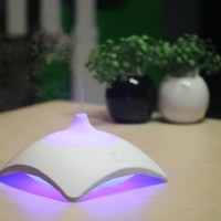 ZAQ Mirage Essential Oil Diffuser LiteMist Ultrasonic Aromatherapy With Ionizer and Color-Changing Light - 150 ML Capacity