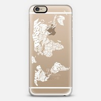 World Word Map iPhone 6 case by Ink of Me | Casetify