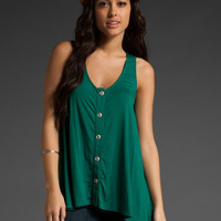 RACHEL PALLY Button Front Tank Dress in Mermaid at Revolve Clothing - Free Shipping!