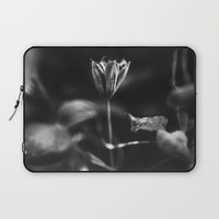 Reaching out - BW Laptop Sleeve by HappyMelvin Protanopia