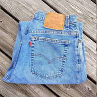 Vintage LEVI'S 550 Jeans - High Waisted Jeans - Ladies - Size 4 / 6