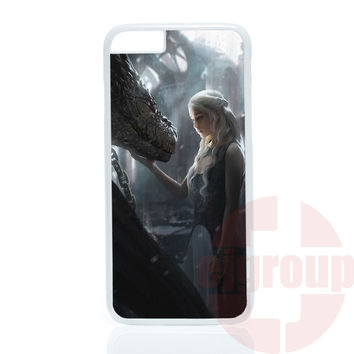 daenerys game of throne For Apple iPhone 4 4S 5 5C SE 6 6S 7 7S Plus 4.7 5.5 iPod Touch 4 5 6 Phone case cover Cases