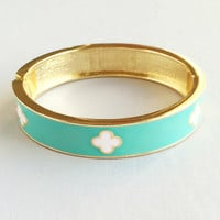Elegant Mint Bangle