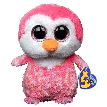 TY Beanie Boos - CHILLZ the Pink Penguin (Glitter Eyes) (Regular Size - 6 inch) *Limited Exclusive*: BBToyStore.com - Toys, Plush, Trading Cards, Action Figures & Games online retail store shop sale