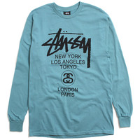 World Tour Longsleeve T-Shirt Steel