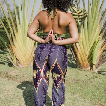 Purple Harem Pants // Harem Pants // Women's Harem Pants // Festival Pants // Purple Pants // Music Festival Pants // Festival Clothes