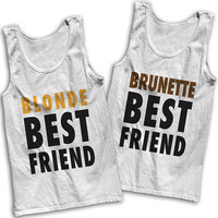 Blonde & Brunette Best Friends Tees!