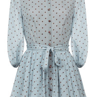 Polka Dot Mini Dress | Moda Operandi
