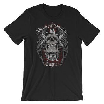 Broken Bones Empire Short-Sleeve Unisex T-Shirt