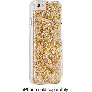 Case-Mate - Karat Case for Apple® iPhone® 6 and 6s - Clear/Gold
