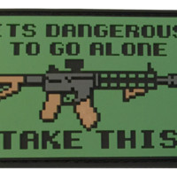 Dangerous To Go Alone - Morale Patches