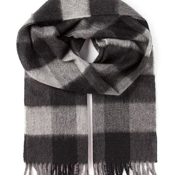 Lanvin checked scarf