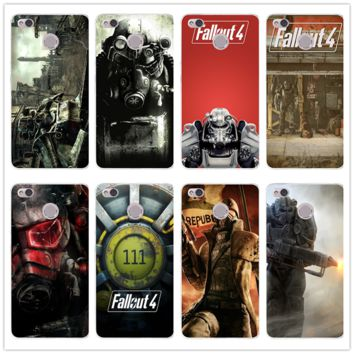 Fallout 4 Video Games Soft TPU Cell Phone Case Silicon for Xiaomi Redmi Mi Note 2 3 3S 4 4A 4X 5 5X 5S 5A 6 6X A1 Pro Plus Shell