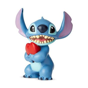 Disney Showcase Stitch with Heart Mini Figurine