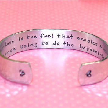 Mother's Day | Gifts for Mom | Gifts for Mom | Mom Ideas | Gift Ideas for Mom | Mother Love is the fuel... Custom Bracelet by Korena Loves