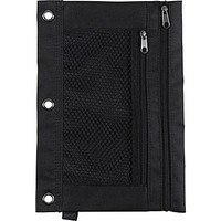 Staples 3-Ring Pencil Pouch, Black (24220) | Staples®