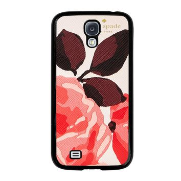 KATE SPADE CAMEROON STREET ROSES Samsung Galaxy S4 Case