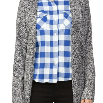 Girls Flannel Classic Fit Plaid Shirt