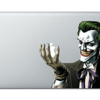 Joker Batman -- Macbook decal Mac decal Mac sticker Macbook sticker apple decal iPad iPhone skin