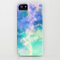 Mountain Meadow Painted Clouds iPhone & iPod Case by Caleb Troy