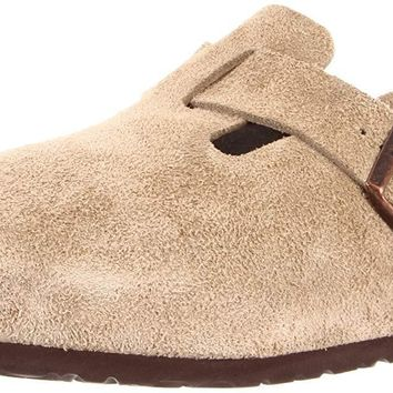Birkenstock Boston Suede Clogs