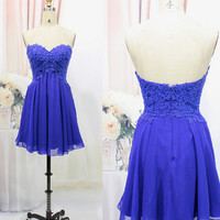 Short Prom Dress Short homecoming dress S009