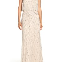 Adrianna Papell Embellished Blouson Gown | Nordstrom