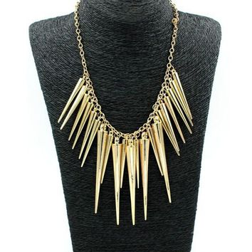Women's Dramatic Chain Statement Necklace