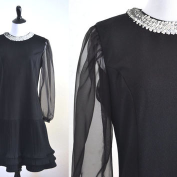 1960s Megan Draper Zou Bisou Bisou Dress Flirty Vintage Style