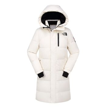 The North Face NEW outdoor MEN'S  Long Down jacket/white