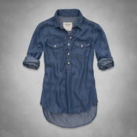 Hilary Denim Shirt