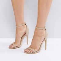 Truffle Collection Barely There Heel Sandals at asos.com