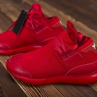 Adidas Y3 Qasa High Samurai  Red  Sneaker
