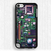 circuit board Ipod touch 4 case,PCB iPod touch 5 case, Creative IPod 5 case,cool design Ipod 4 case,fashion touch 4 case,touch 5 case