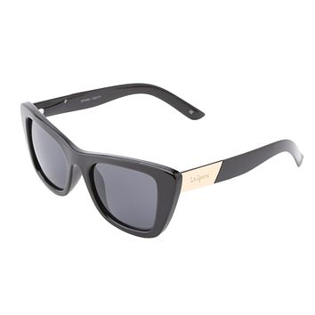 Le Specs Sphinx Black Sunglasses