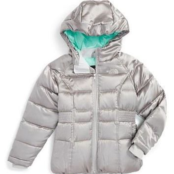 The North Face Girl's 'Ileana' Water Resistant?Down Parka,