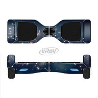 The Dark & Glowing Sparks Full-Body Skin Set for the Smart Drifting SuperCharged iiRov HoverBoard